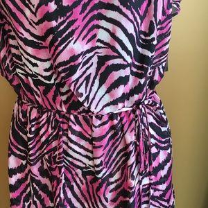 Thalia Sodi Dresses - New Thalia Sodi resort maxi animal print dress
